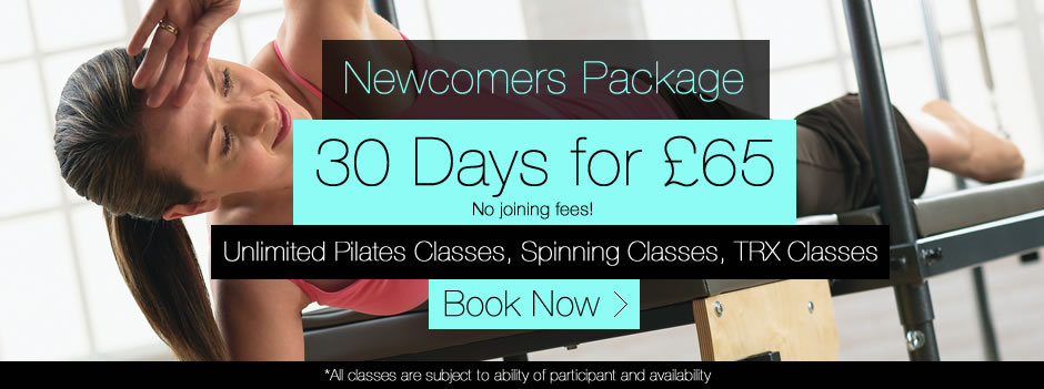 30 Days for £40 Pilates